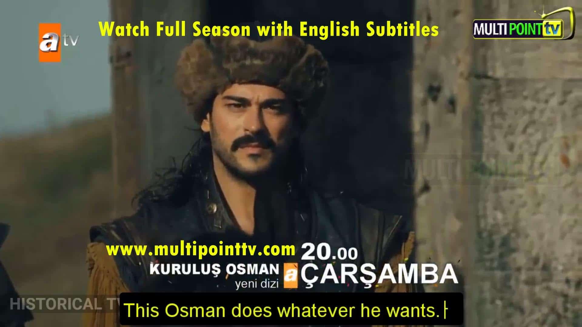 Kurulus Osman with English Subtitle: 1×2