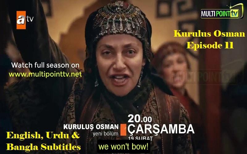 Kurulus Osman Urdu Subtitles: 1×11