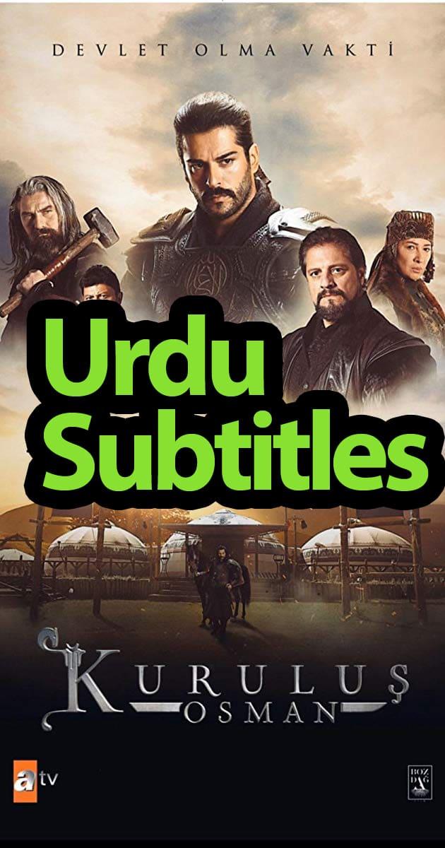 Kurulus Osman Urdu Subtitles